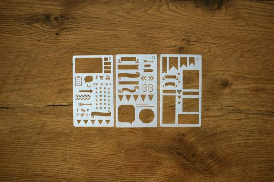 pochoirs kit checklist
