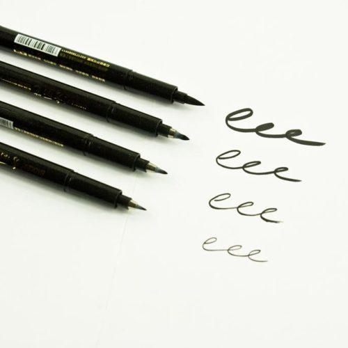 pack de stylos de calligraphie