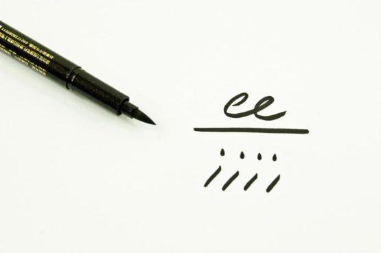 Stylos de calligraphie pointe brush