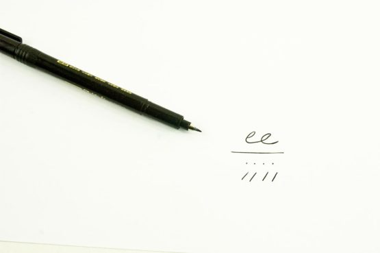 Stylos de calligraphie pointe extra fine