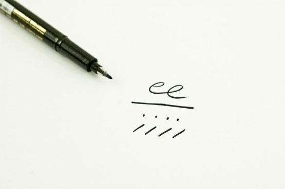Stylos de calligraphie pointe fine