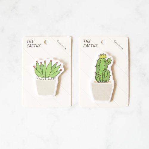 post it cactus aloe vera