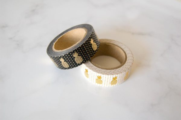 washi tape ananas dore or
