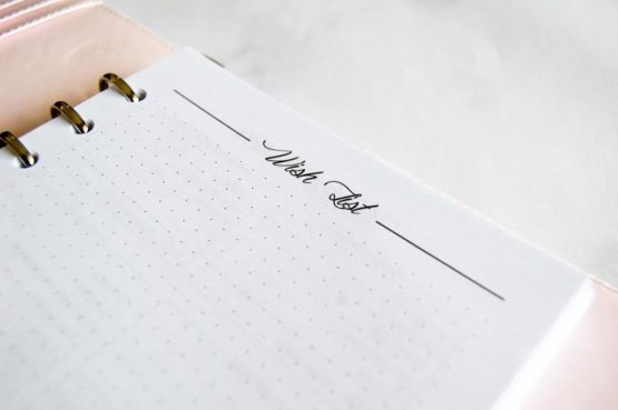 pack finance recharge bullet journal