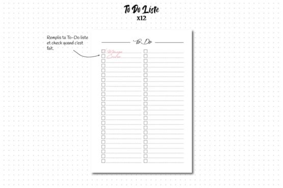 to do list recharge bullet journal