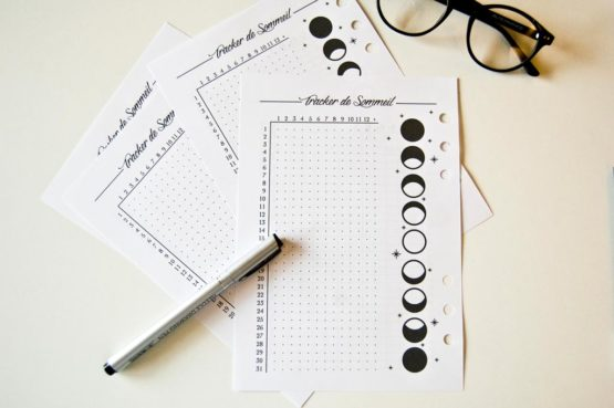 tracker sommeil recharge bullet journal
