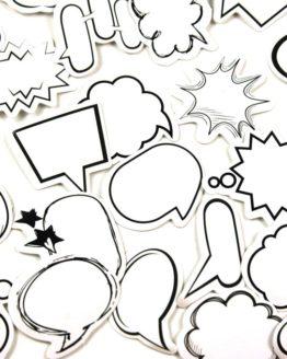 sticker bulle bd bande-dessinee autocollant