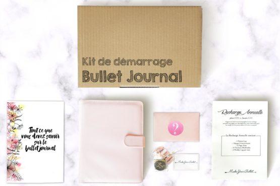 Kit de démarrage bullet journal