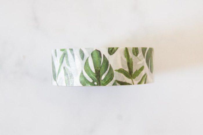 Washi tape Tropical